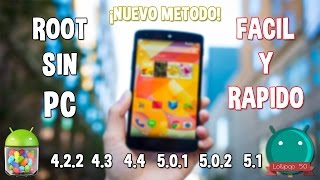 Rootear Cualquier Android sin PC (Desde Jelly Bean a Lollipop) (2015)
