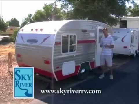 White Water Retro Travel Trailer Review