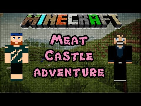 Modded Minecraft 1.6.4 | Meat Castle Adventure | Mighty Morphin Minecrafters