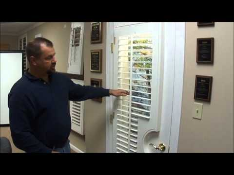 Custom Shutters For French Doors Youtube