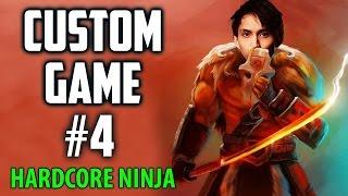 CUSTOM GAME #4 Hardcore Ninja ◄ SingSing Moments Dota 2 Stream