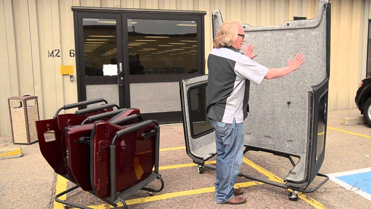 Bestop S Hoss Hardtop Storage For Jeep Wrangler Youtube
