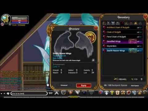 AQW=Treasure Chest items
