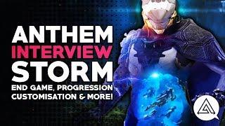 ANTHEM Interview - Storm, End Game, Progression, Customisation & More!