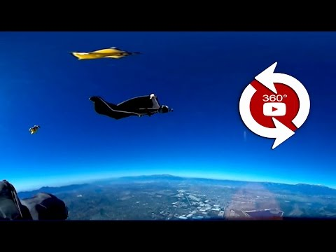 360 Camera Wingsuit Flock - 00569