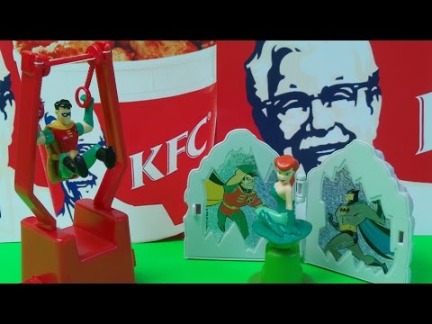 Kfc Logo 1997 1997 Kfc Kids Meal Batman