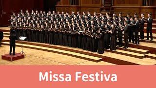 Missa Festiva(John Leavitt) - National Taiwan University Chorus