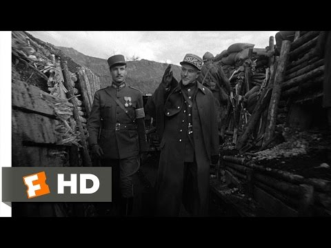 Paths Of Glory (1/11) Movie CLIP - A Stroll Through The Trenches (1957) HD