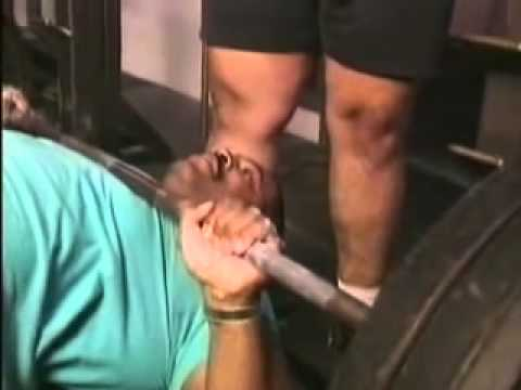 Original footage of CT Fletcher, 500 lbs bench press and more!