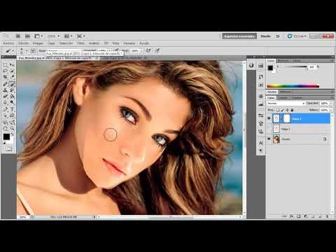 Cómo Cambiar de Cara  a una Persona - Video Tutorial de Photoshop