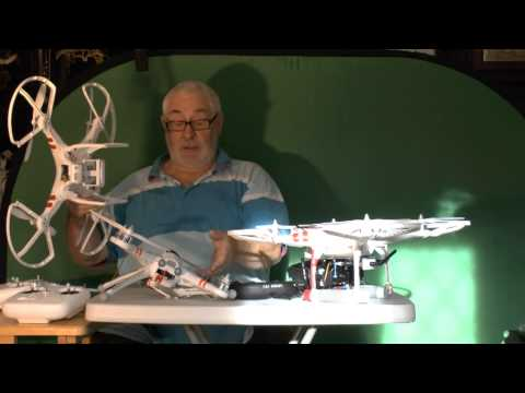 BRIANS REVIEW on the  DJI Phantom / Walkera QR-X350