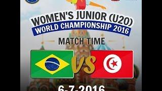 Бразилия до 20 : Тунис до 20