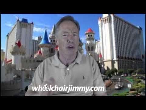 WheelchairJimmy.com Las Vegas Excalibur Hotel and Casino