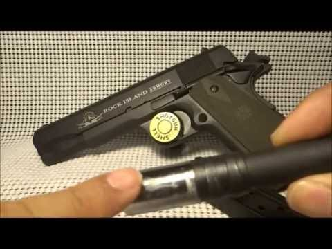 Rock Island 1911 38 Super converted to 9mm