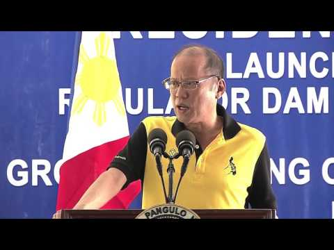 Launching of the Angat Afterbay Regulator Dam (Bustos Dam) Rehabilitation Project (Speech)