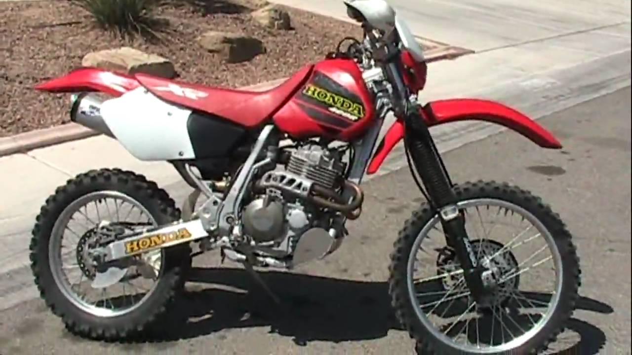 Honda Xr400r Youtube