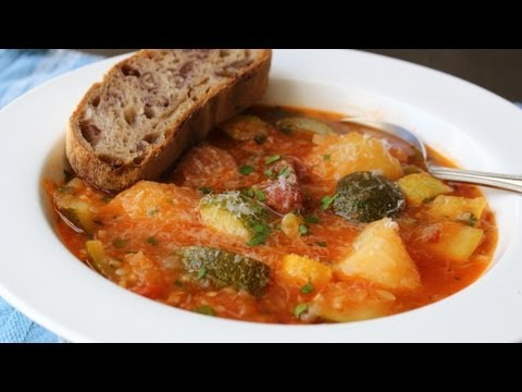 Summer Squash Sausage Stew Recipe – Easy Summer Squash Stew