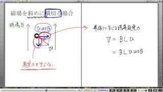 高校物理解説講義:「電磁誘導」講義9