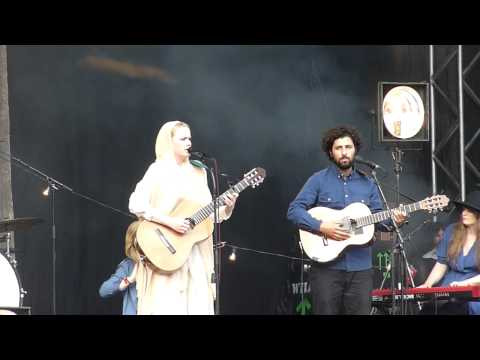 Ane Brun ft Jose Gonzalez - Worship Live at Way Out West -Festival - Gotheburg [HD]