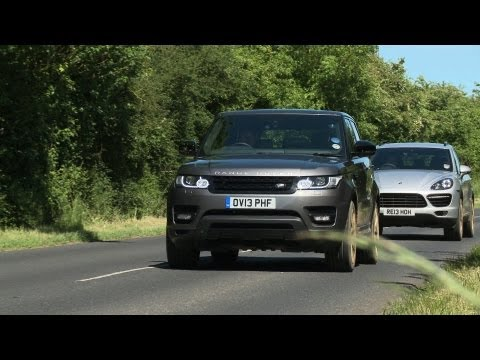Range Rover Sport Vs Porsche Cayenne Turbo Tested On Road, Off Road And On Track