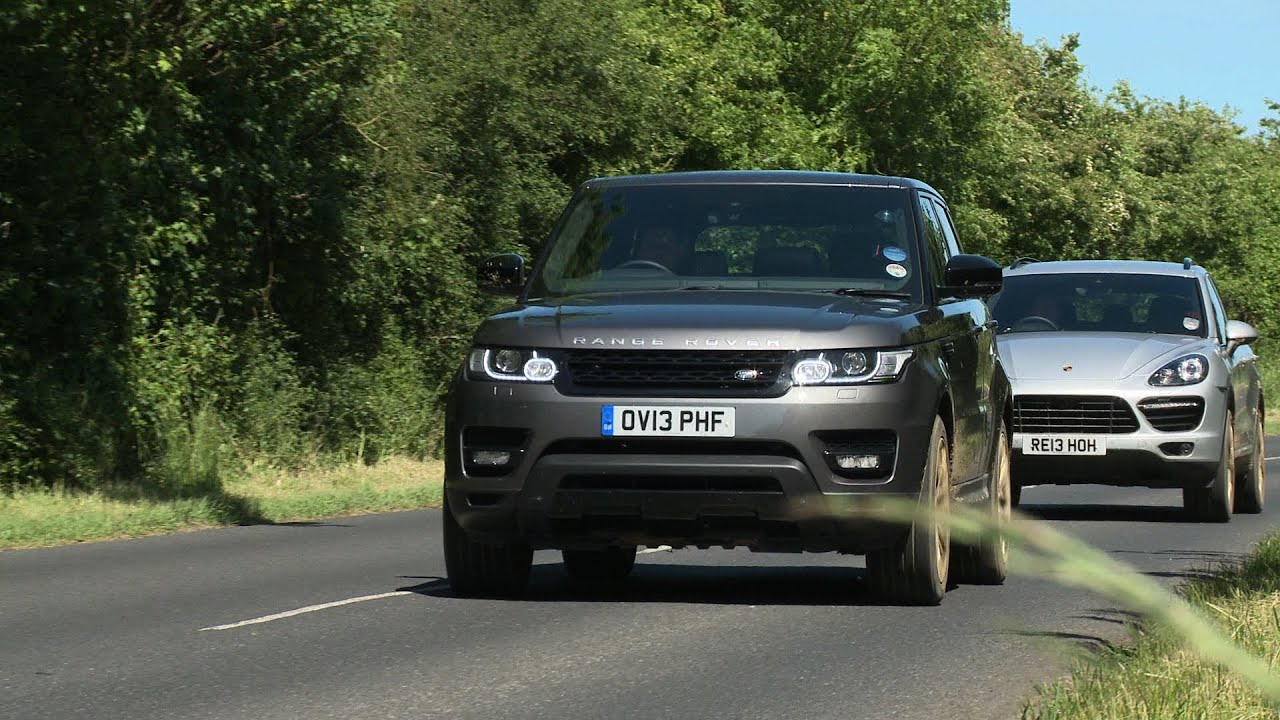 Range Rover Sport Vs Porsche Cayenne Turbo Tested On Road
