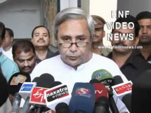 Orissa Flood 2011: Orissa Chief Minister Naveen Patnaik took stalk of situation