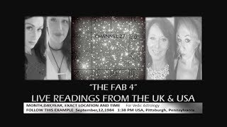 "The Fab 4 - Live Readings ""Numerology, Body Scans, Tarot, Rods & Vedic Astrology combined """