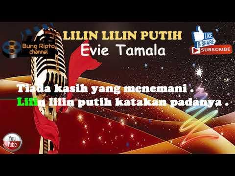 LILIN LILIN PUTIH - EVIE TAMALA Karaoke Dangdut