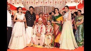 Hero Rajasekhar Sister Son Karthik with Deepthi Sai Marriage Photos | Tollywood Today