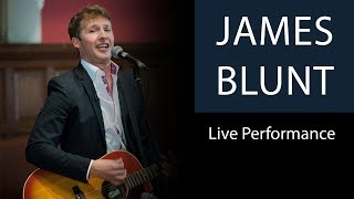 Download Lagu James Blunt | You're Beautiful | Live Performance at Oxford Union Gratis STAFABAND