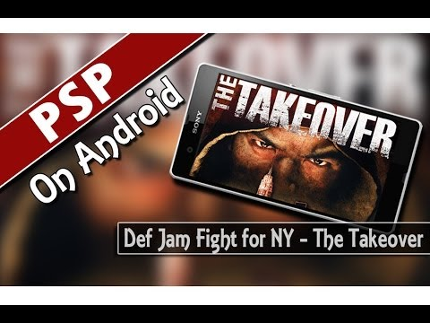 Ppsspp V0.9.8 Def Jam Fight For Ny - The Takeover (psp Emulator On Android) video
