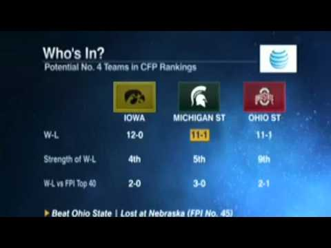 cbs college football rankings ncaa week 4