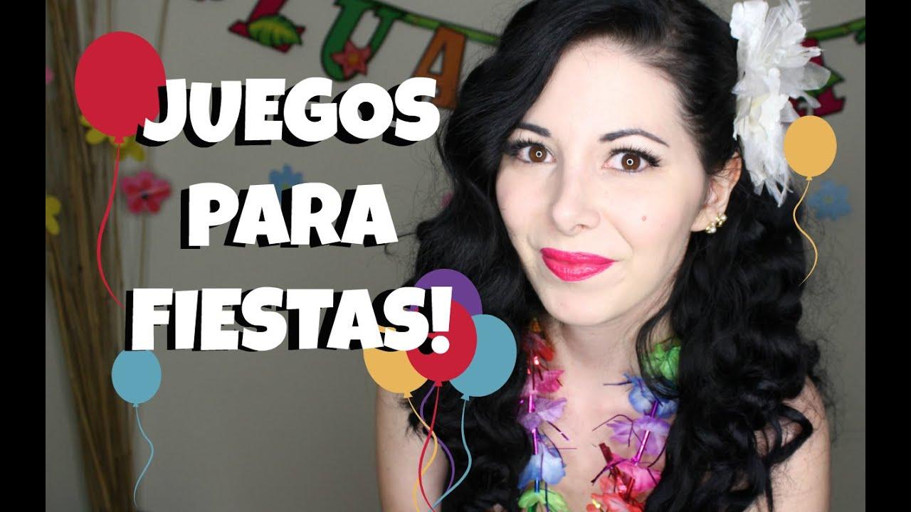 Juegos para fiestas y mi cumplea os youtube - Actividades cumpleanos adultos ...