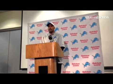 VIDEO: #Lions DC Teryl Austin on Nick Fairley's return to practice today.