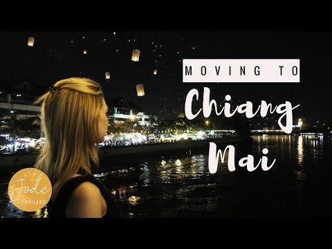 Moving to Chiang Mai! Yi Peng Lantern Festival + Digital Nomad Life