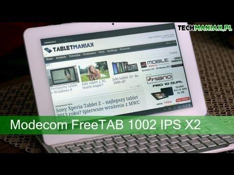 Wideo test i recenzja tabletu Modecom FreeTAB 1002 IPS X2 | techManiaK.pl