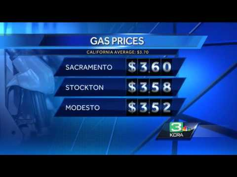 Sacramento's gas prices continue to fall