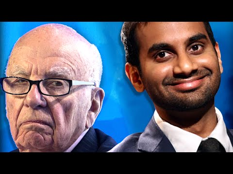 Aziz Ansari Made Rupert Murdoch Apologize & Then Sticks The Landing