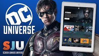 DC Unleashes Its Own Netflix! Can It Compete?? - SJU