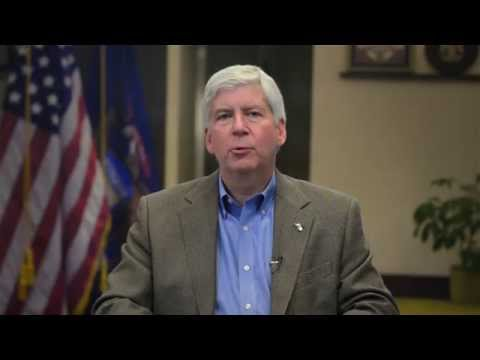 Governor Rick Snyder Discusses Regional Prosperity Initiative