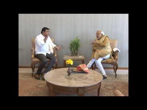 Malayalam film actor Suresh Gopi meets Shri Narendra Modi