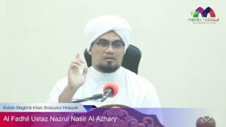 Kuliah Maghrib Kitab Bidayatul Hidayah bersama Al Fadhil Ustaz Nazrul Nasir Al Azhary