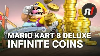 How to Farm Infinite Coins AUTOMATICALLY in Mario Kart 8 Deluxe on Switch | Smart Farming