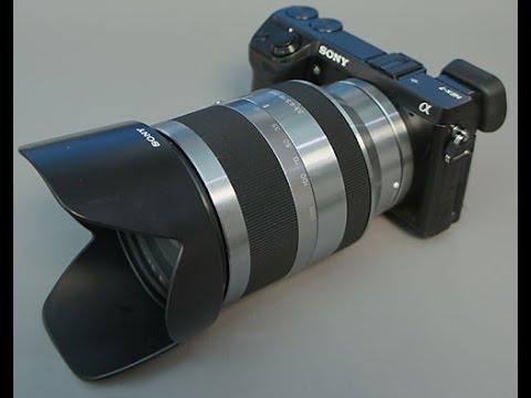Sony sel18200le e 18-200mm f35-63 oss le e-mount zoom lens - international version (no warranty)