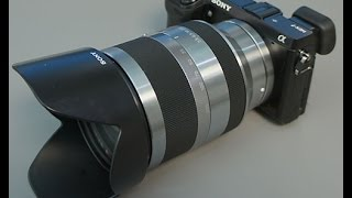 Sony Nex Sel 18-200mm lens review