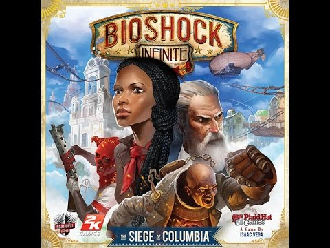 Bioshock Infinite: The Siege of Columbia review - Board Game Brawl