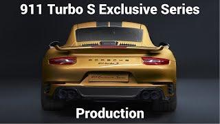 2018 Porsche 911 Turbo S Exclusive Series Production