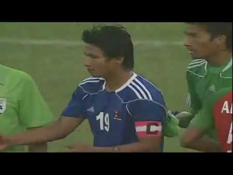 Sagar Thapa's Terrific Goal Against Bangladesh! video