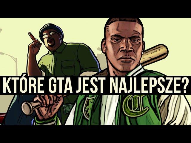 Które GTA jest NAJLEPSZE? TOP 5 gier z serii Grand Theft Auto [tvgry.pl]