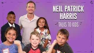 Neil Patrick Harris Talks to Kids About Embarrassing Moments